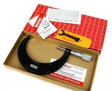 "Starrett 436P-4 Outside Micrometer 3-4"" .001"" Grad with Wrench in Original Box"