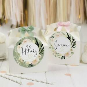 Wedding Activity Party Box | DELICATE BLUSH | Personalised Boxes Party Favour