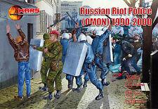 1:35 FIGUREN 35001 RUSSIAN RIOT POLICE (Omon) 1990-2000 - MARS