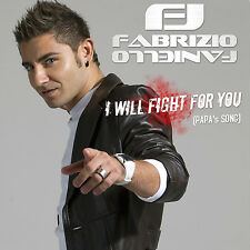 "Fabrizio Faniello - CD-Single ""I WILL FIGHT FOR YOU (Papas Song)"" - Eurovision"
