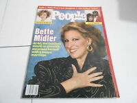 FEB 3 1986 PEOPLE magazine (NO LABEL) UNREAD - BETTE MIDLER
