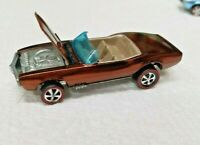 HOT WHEELS VINTAGE REDLINE 1967 CUSTOM FIREBIRD (RESTORED) HONG KONG