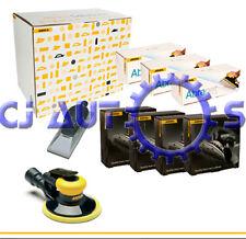 Mirka Deros 650CV Lijadora eléctrica da Máquina Kit Completo 150mm 6 pulgadas Abranet tiras
