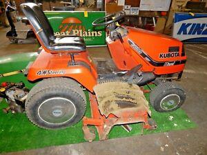 "Kubota G1800 Diesel Garden Tractor-54"" Deck-4 Wheel Steering"