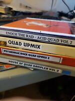"4 QUAD REELS QUADRAPHONIC Reel to Reel MUSIC (4 tapes 7"" ) Lot#040321"