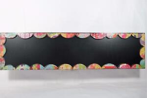 Holly Christine 'Chalkboard Sign' hang/set Vert. Or Horiz #101245 NIB!