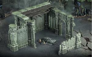 WARCRY/ AoS - TERRAIN / SCENERY - Ruins Walls - Warhammer Age of Sigmar