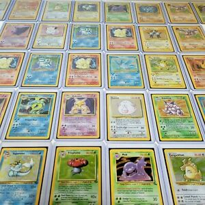 Pokemon Gen 1 Holo (Base, Jungle, Fossil or Base 2) Plus 10 Random Vintage Cards