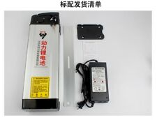NEW!48V 20ah Li-ion Rechargeable Battery W/ Rear Rack Case & Charger ebike