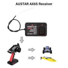 AUSTAR AX6S Receiver 4CH for RC Car Boat AUSTAR AX6S Transmitter P4C3