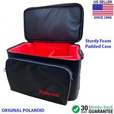 Polaroid Vintage Sturdy Foam Padded Camera Bag Case with Shoulder Strap