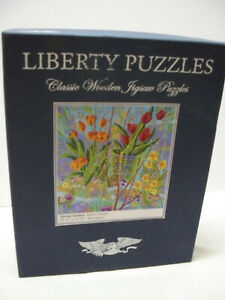 Liberty Classic Wooden Jigsaw Puzzle Spring Garden 466 Pieces