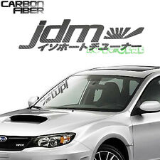 Carbon Fiber JDM Rising Sun Japan Performance Car Windshield Vinyl Sticker Decal