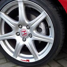 Type-R Alloy Wheel Decal, Stickers, Graphic Wheel Decal, Alloy Wheel Sticker X5