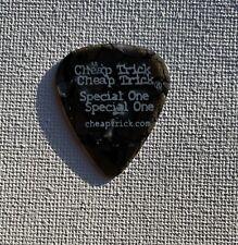 Cheap Trick - Rick Nielsen Signature 2010 Tour Guitar Pick Black Marble