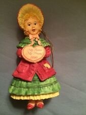Forget Me Not Collectible Ornament To A Dear Sister At Christmas 1996 New
