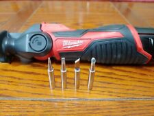 5 New Replacement Tips For Milwaukee M12 Soldering Iron 2488 20 Assorted