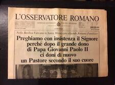 Commemorative Newspaper - L'Osservatore Romano - April 2005