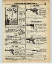 1937 PAPER AD Toy Pop Gun Buck Rogers Wyandotte Daisy 25th Century Rocket Pistol