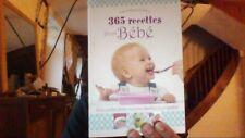 365 recettes pour bébé de Collectif | Livre | état bon