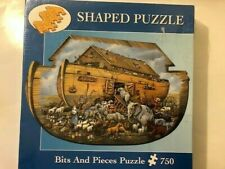 Noah and the Ark 750 Piece Shaped Jigsaw Puzzle Ruane Manning © 2002 New Sealed