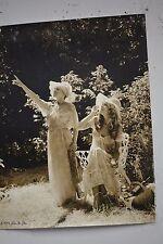"Original Alan Houghton fine art Photography ""Ladies in the Garden"" 16 X 20 1974"