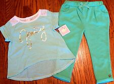 JUICY COUTURE KIDS GIRLS BRAND NEW GOLD LOGO DRESS LEGGINGS SET Size 6-9M, NWT