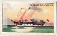 """1812 Paddle Steamer """"Comet"""" Commercial Steamboat Ship 1920s Trade Card"""