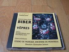 Biber : Vêpres, Vespers - Richard, Ripley, Jackson - CD REM 1993