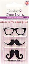 Dovecraft pequeño claro se aferran sellos-Dccs 025-bigote y gafas