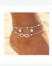 Silver Beach Fashion silver anklets Ankle Bracelet for Women Jewelry Anklet