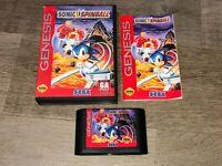 Sonic Spinball Sega Genesis Complete CIB Authentic