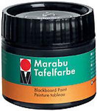 Marabu Blackboard Paint 225ml - Ebony Black for chalkboards / black boards