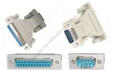 DB25 Female Jack~DB9pin Male Plug cable/cord/wire Adapter RS232 Serial$SHdisc{TT