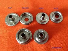 SNAP PRESS STUD FASTENERS STAINLESS STEEL 316 MARINE GRADE X 20 INC POSTAGE