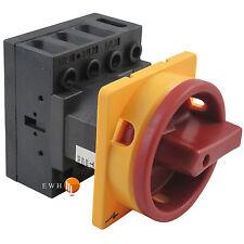 Main Switch Repair LOAD BREAK Fountain Blue Rotary turn-switch NEW