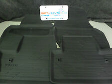 Genuine Volvo 2011-2017 S60 Black All Weather Floor Mat/Cargo Tray Combo OE OEM