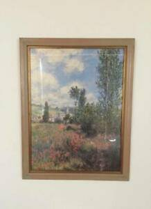 Collection of Framed Monet Prints