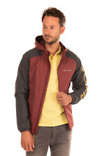 RRP €135 COLUMBIA Jacket Size M Lightweight Colour Block Full-Zip Drawcord Hood