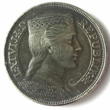 Latvia 5 Lati 1931 Silver coin