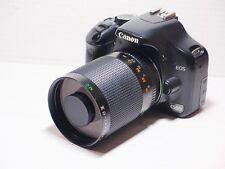 LENTE 500 MM = 750 mm su Canon Digital 7D 70D 50D per la fotografia della fauna selvatica 1200D EOS
