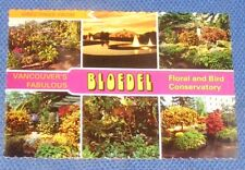 THE FABULOUS BLOEDEL FLORAL CONSERVATORY, VANCOUVER, B.C. CANADA