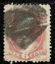U.S. Stamp Scott 159 - 6 cent Lincoln issue of 1873