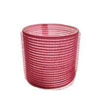 Mega Size Magnetic Pink Rollers Curlers Max Volume Smooths Hair Hook And Loop
