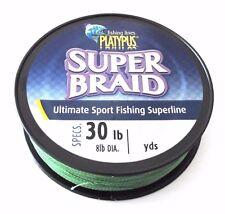 Platypus SUPER BRAID 30lb/500yds (dia 20lb) Green