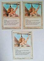 3 x Serra Angel Revised MTG