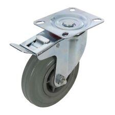 Roulette pivotante Caoutchouc a frein FIXMAN 663584