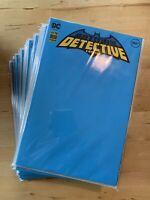 DETECTIVE COMICS #1027 Comic Book Cover L BLANK Sketch VARIANT DC NM Batman