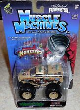 MUSCLE MACHINES Monster Patrol Bride Of Frankenstein Monster Truck Mosc New 1:64