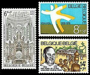 Belgium - 1913/15 - Ol - 1978 Solidarity Anniversaries de Luxe
